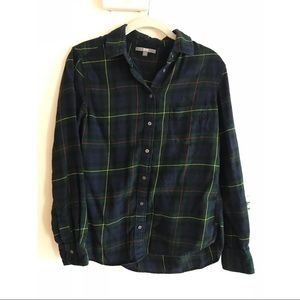 Uniqlo women's flannel shirt